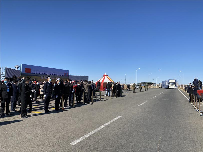 中蒙舉行蒙古向中國捐贈羊交接儀式-圖4