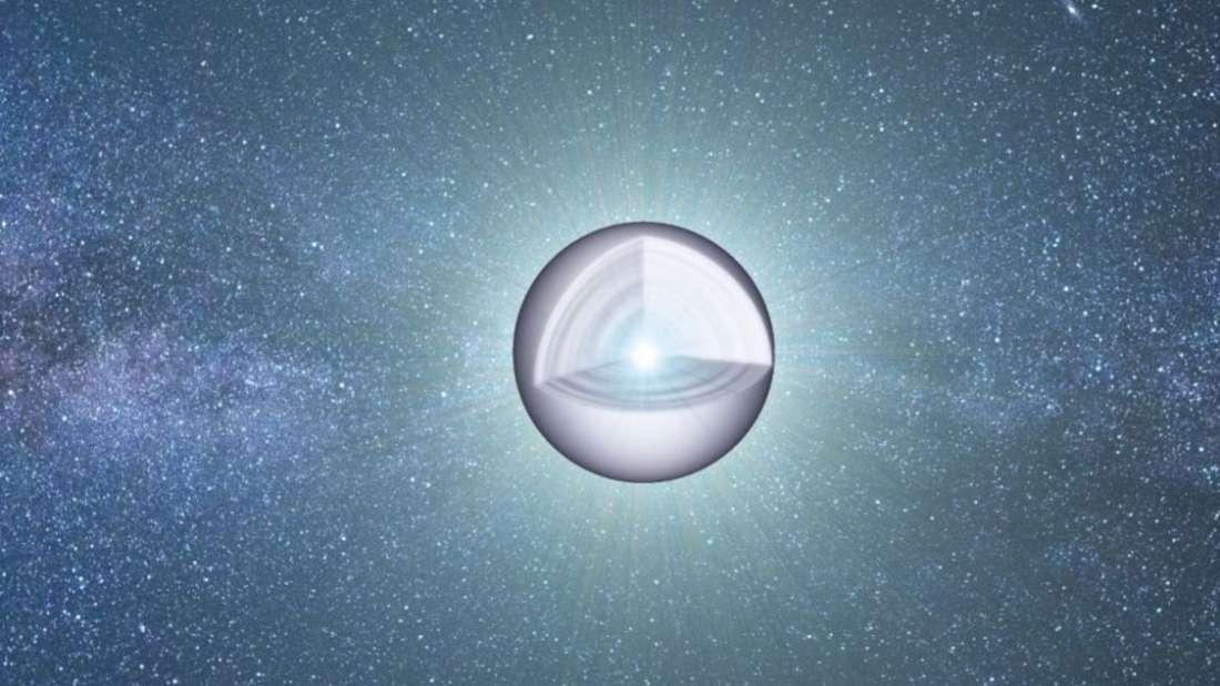 罕见! 科学家刚刚确认, 在白矮星内部发现意想不到的东西!