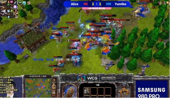 《魔獸爭霸3》WCG戰報, 劍走偏鋒的奇招, 盲目推進的慘敗-圖5