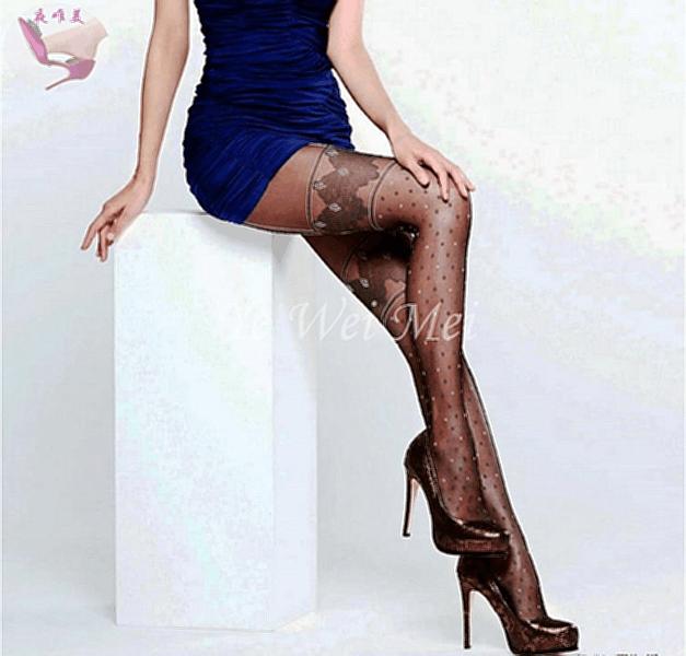 丝袜短裙高跟鞋内心的美丽燥动, 风情万种秀长腿 5