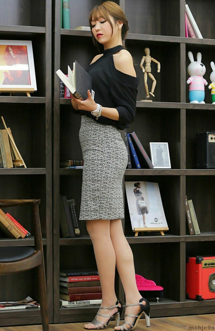 短裙美女秀身材, 穿出妹子曼妙曲线 5