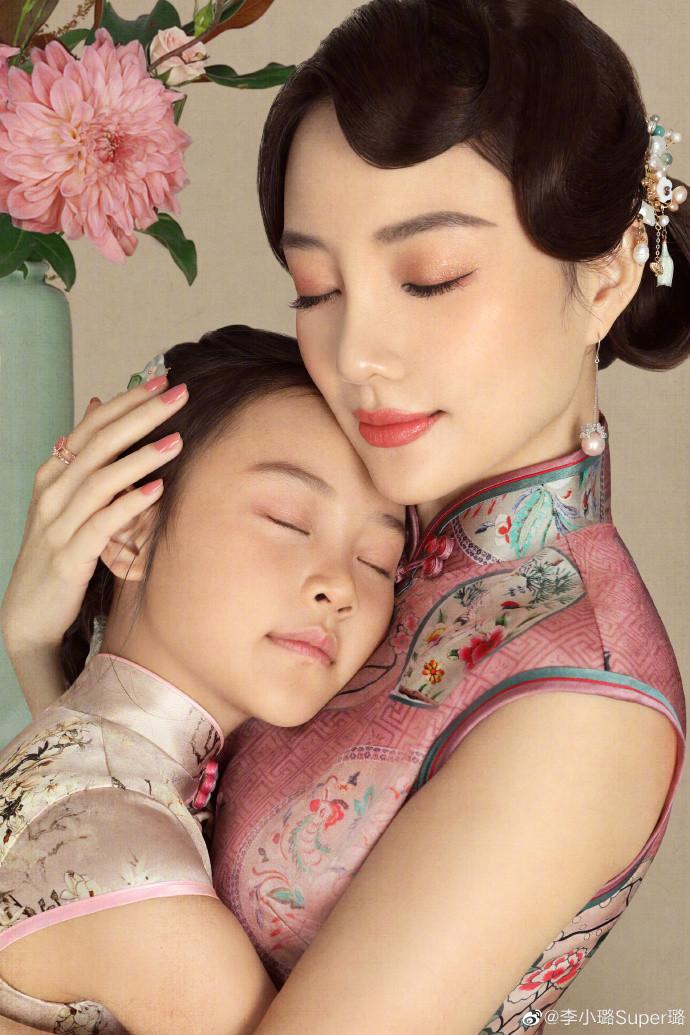 賈乃亮為甜馨慶生為愛復合 甜馨李小璐母女旗袍造型-圖2