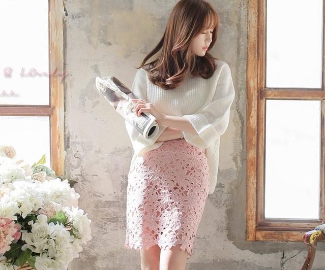 甜美婉约的短袖包臀裙, 楚楚动人, 上身气质又漂亮 1