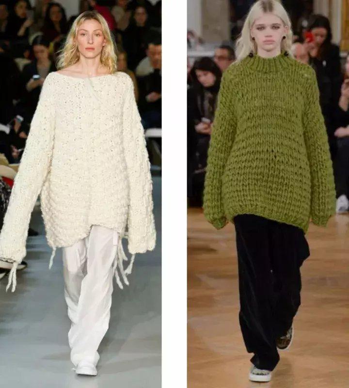 2017最时髦的毛衣, 江疏影和高圆圆都在穿!