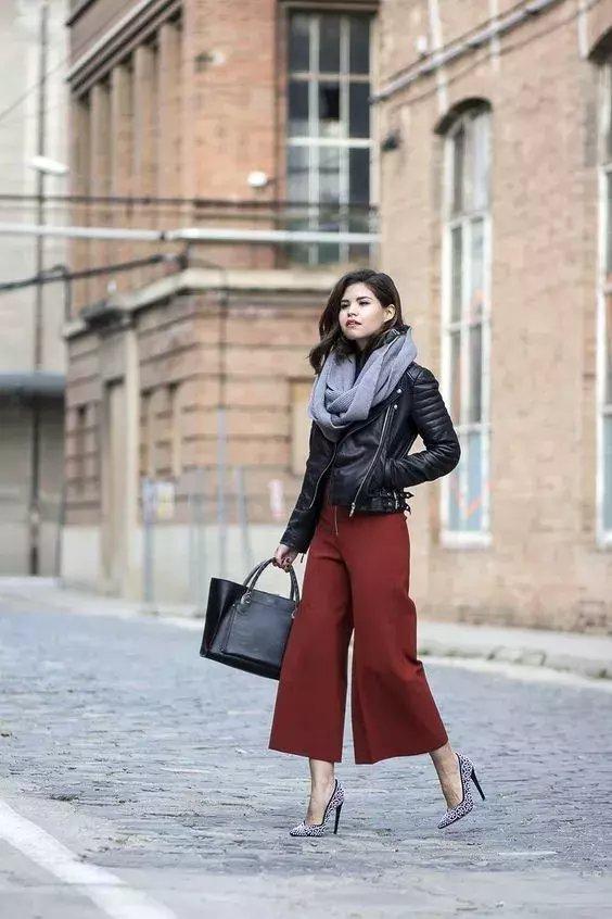 今年秋冬流行不露腿! 有这3条裤子才时髦! 19
