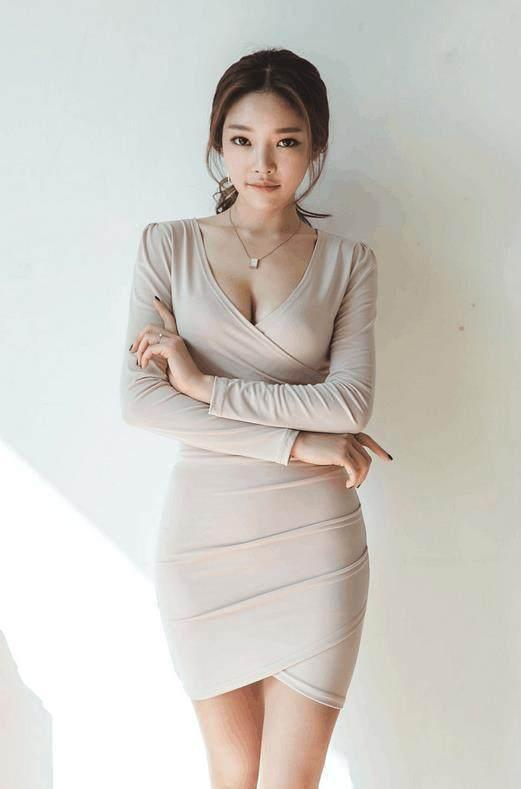 甜美婉约的短袖包臀裙, 楚楚动人, 上身气质又漂亮 6