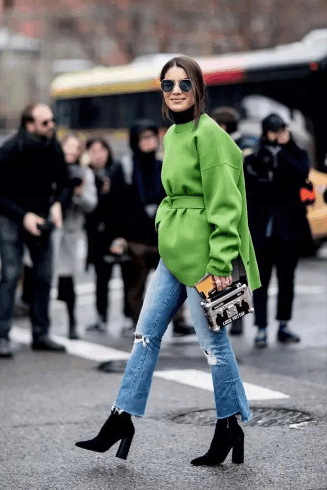 毛衣, 秋冬这样穿又美又温暖 5