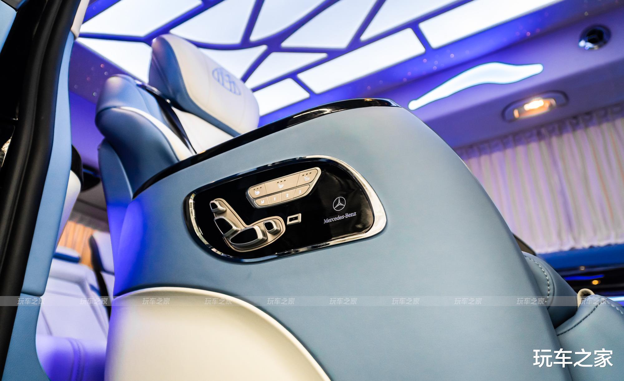 氣質內飾 奔馳威霆改裝邁巴赫高頂款-圖18