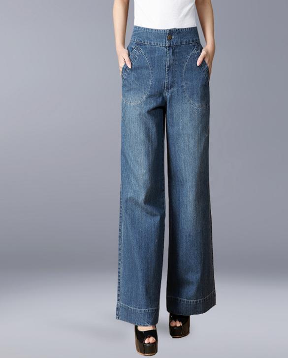 打底裤配裙装早已烂大街, 现流行呢大衣+阔腿裤, 显瘦洋气更抢镜 11