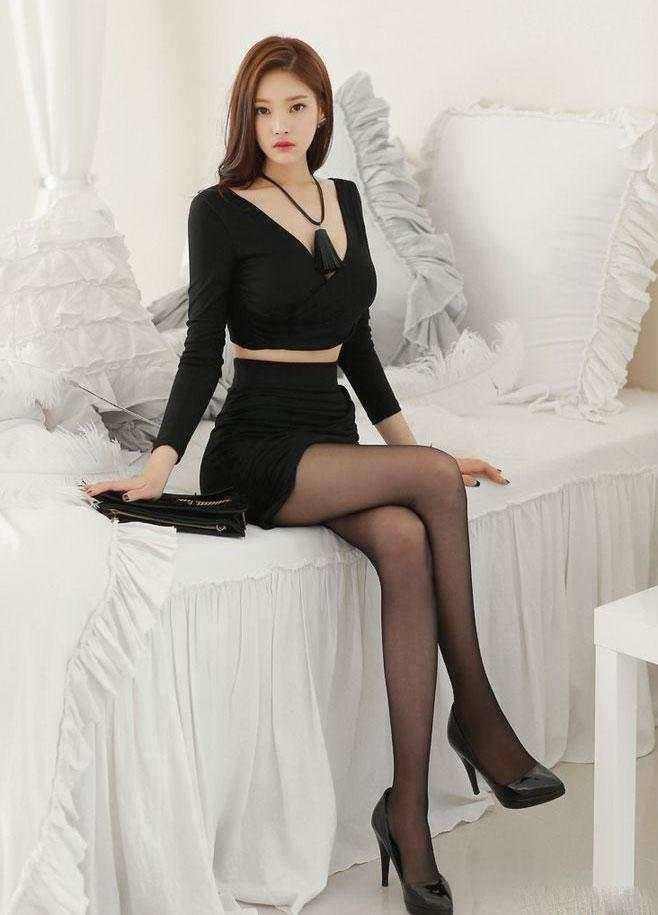 裙子或者是紧身裤, 我要的美丽仅此而已 6