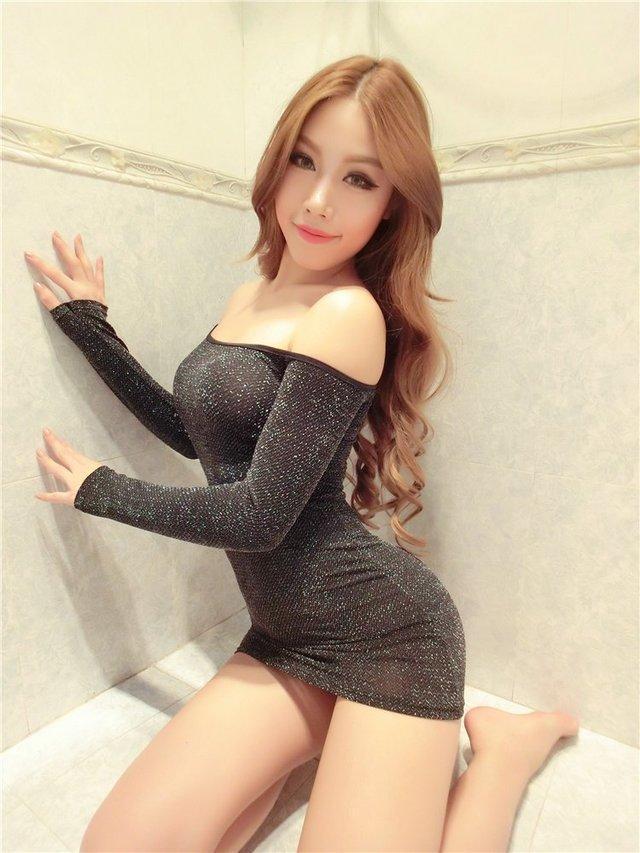 甜美婉约的短袖包臀裙, 楚楚动人, 上身气质又漂亮 5
