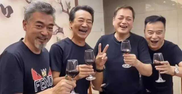 四大瓊瑤男神齊聚, 人還是那個人, 網友: 終歸是英雄遲暮瞭-圖3