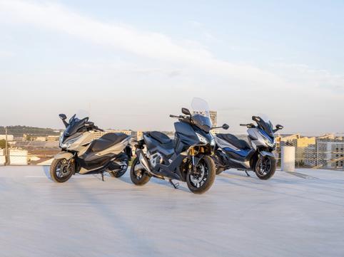 58匹馬力、豐富電控, 本田Forza 750歐洲發佈預計售價7萬-圖1