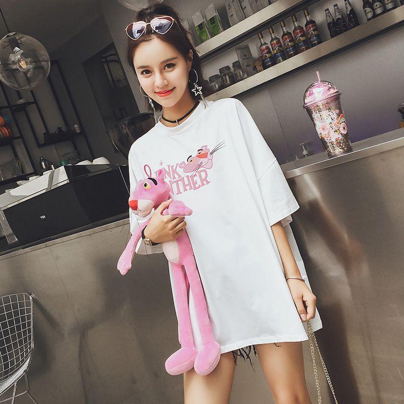 夏季百搭小能手, T恤展现出潮流女性的魅力