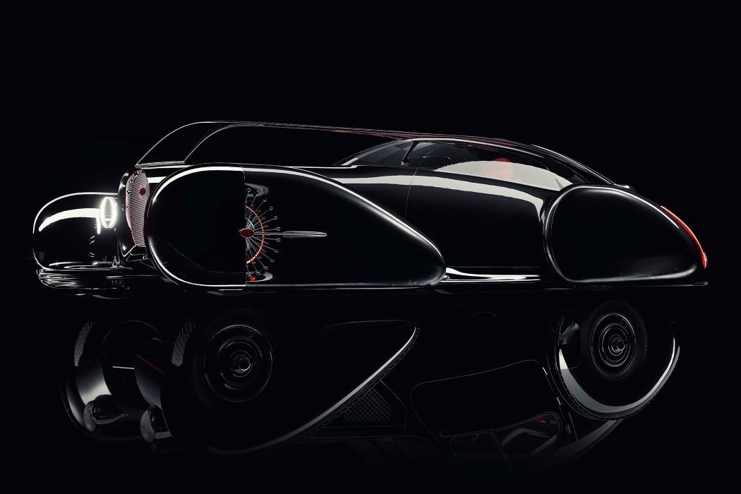 佈加迪發佈Next-57概念轎車, 采用純電驅動, 外形蒸汽朋克范!-圖10