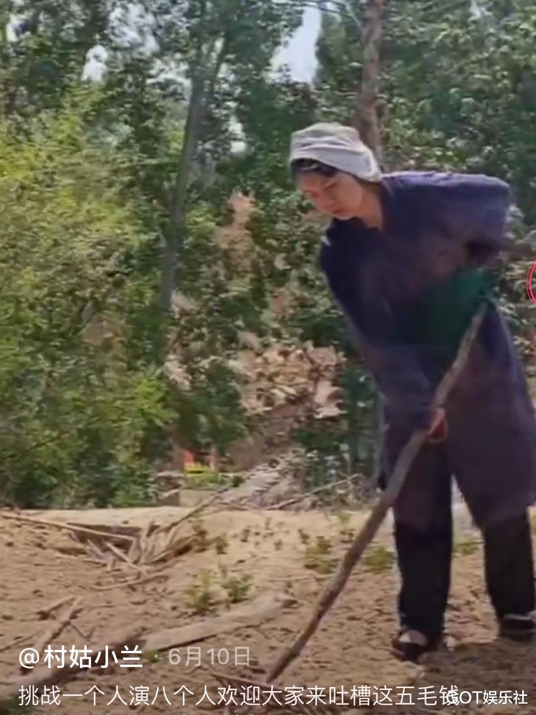 農村女孩自導自演《西遊記》, 道具神還原, 演技比很多明星都好-圖2