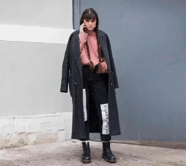 大衣+裤子, 温暖又有范 5