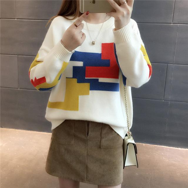 原来明星也穿这样的毛衣时尚又洋气 4
