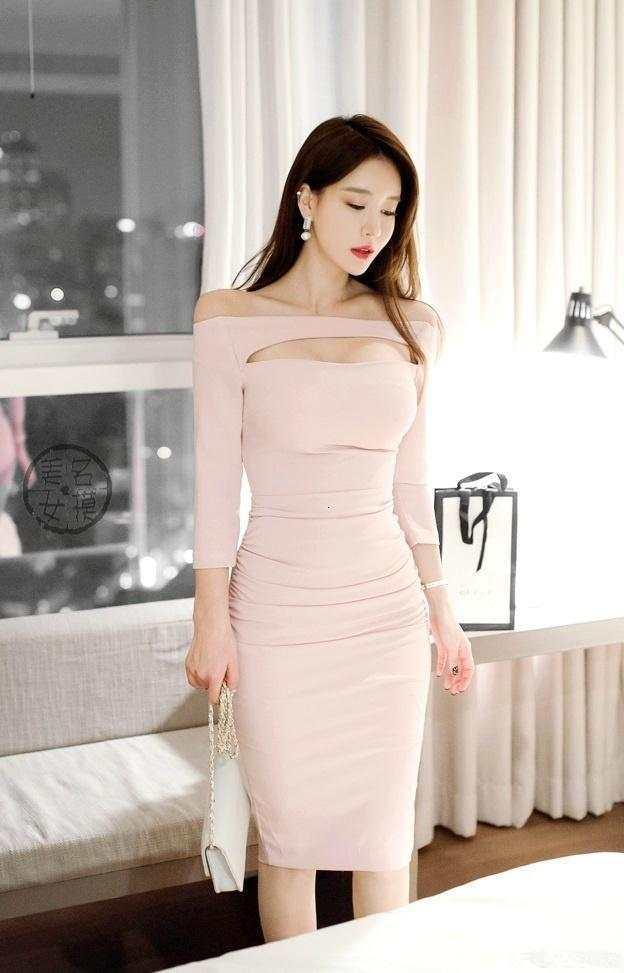 包臀裙迷人姿态, 凸显女性独有的财富人生时尚品位 6