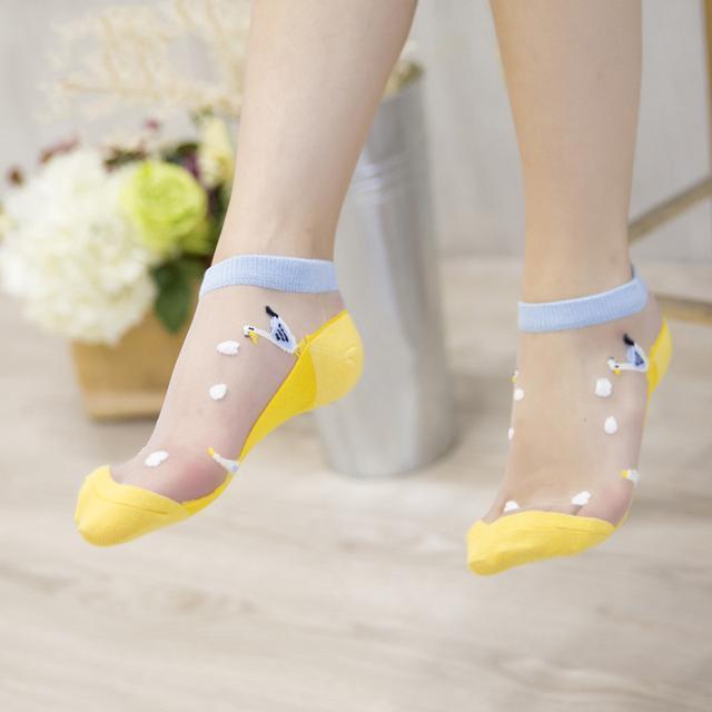 日系玻璃丝袜短袜 你穿了吗 2