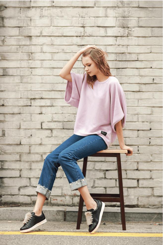 紧身裤甜美干练的优雅, 衬托你的小气场, 平实而素净 1