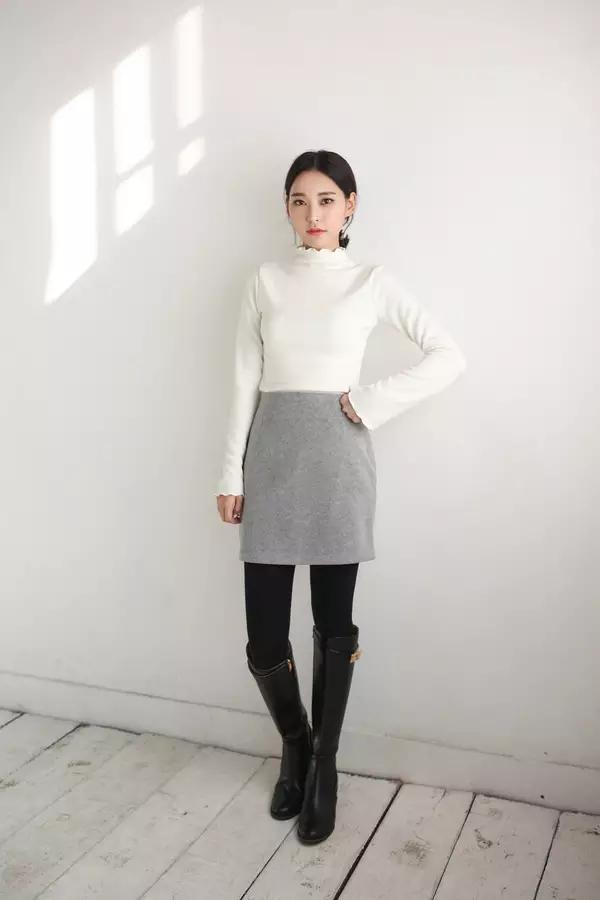 身材娇小不好搭衣? 快来围观时尚博主们是如何在冬季用毛衣凹造型的吧! 4