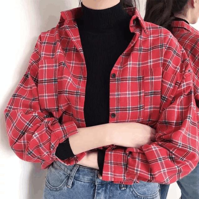 高领毛衣+衬衫, 这种另类时髦你尝试了吗? 9