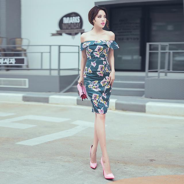 你想看你女友穿这修身连衣裙么?