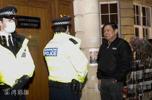 """緬甸駐英國大使無法進入使館並被""""解職"""", 上月曾呼籲軍方釋放昂山素季-圖4"""