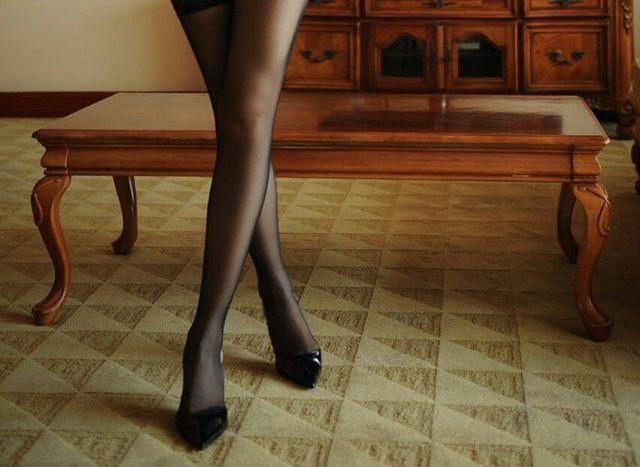 穿丝袜的女人很有女人味 4