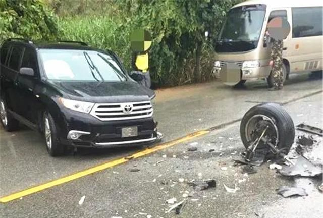 比亞迪撞上漢蘭達, 看到車損車主臉都黑瞭: 日系車國產車差距太大-圖3