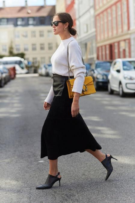 白色毛衣配什么鞋子 7种搭配方法文艺摩登造型随便凹