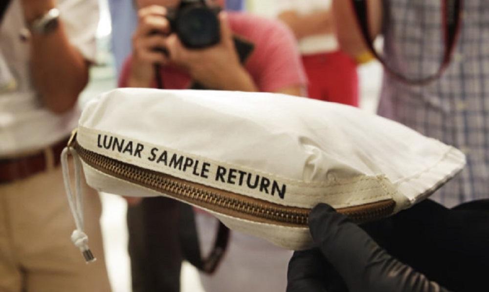 阿姆斯特朗登月时的样品采集袋将在在拍卖会上创下纪录