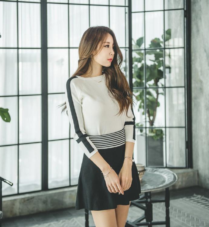 短裙穿着随性自然, 优雅时尚有活力 6