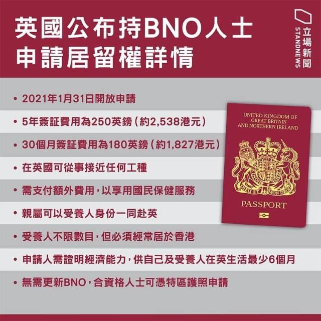 英國公佈BNO計劃詳情, 港媒: 隻為吸引精英港人-圖1
