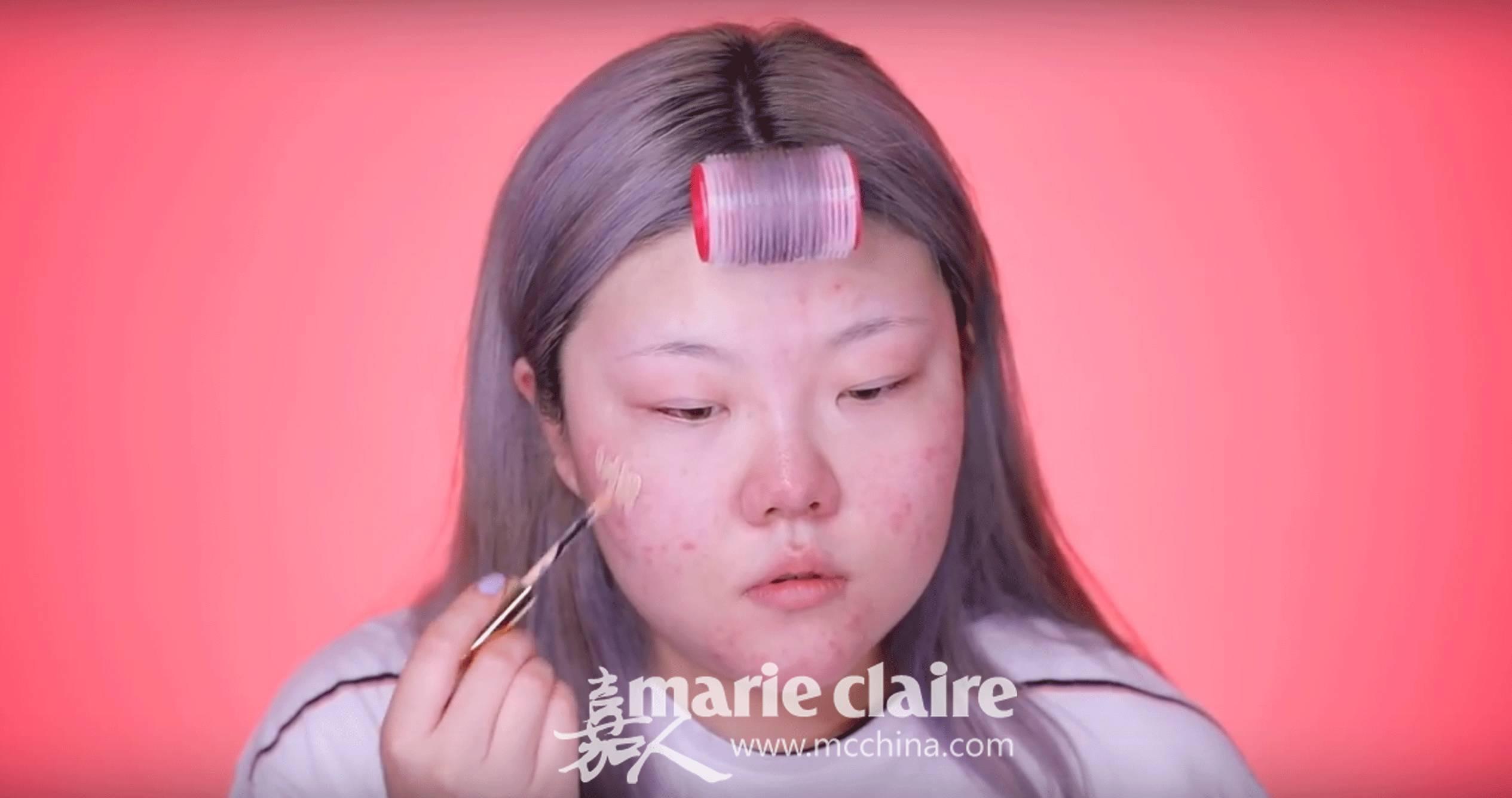 换脸如同换日抛! 扒一扒女孩子的化妆套路有多深! 24