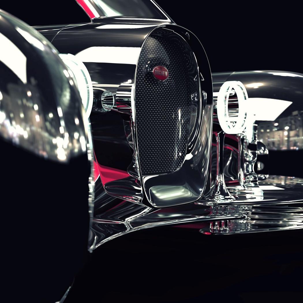 佈加迪發佈Next-57概念轎車, 采用純電驅動, 外形蒸汽朋克范!-圖4