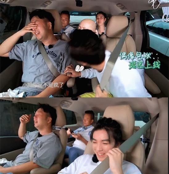 王俊凱模仿騰格爾一臉陶醉, 偶像包袱掉一地, 喜劇人實錘-圖3