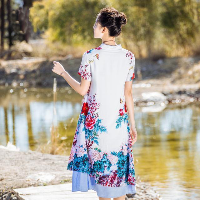 今夏印花连衣裙来袭, 时尚感十足, 尽显女人味 6