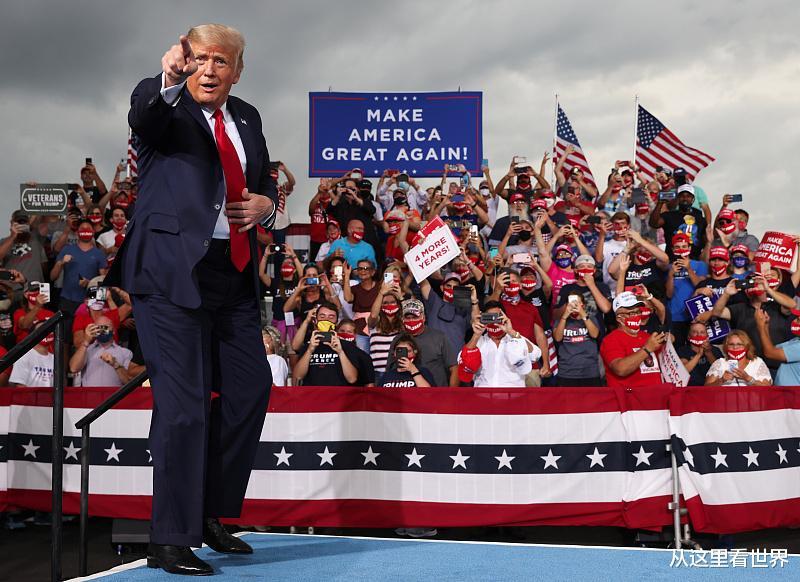 特朗普揚言: 若輸掉大選, 我將逃離美國!-圖1
