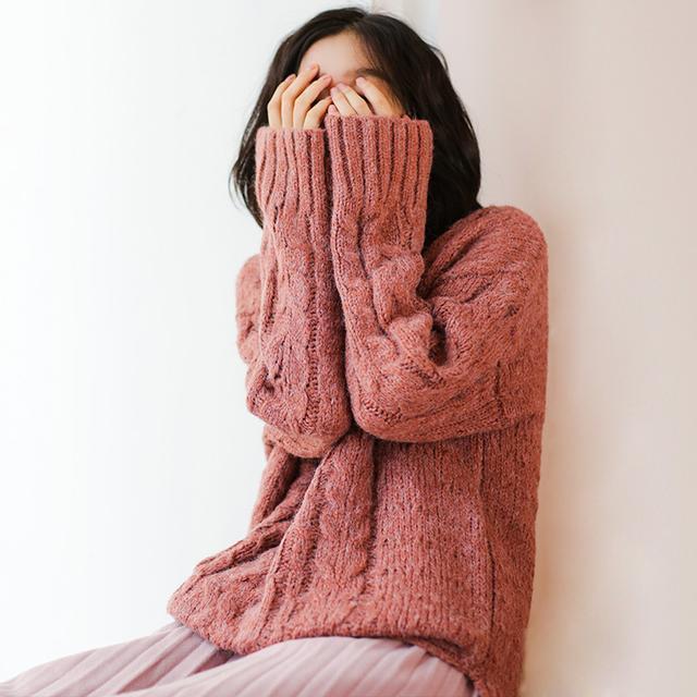 老式毛衣可以扔了, 多穿今年流行的, 保暖舒服洋气上天了 4