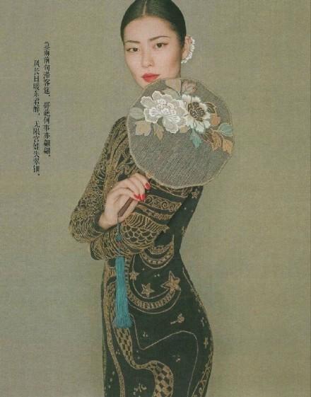 大表姐刘雯中国风时尚大片美炸了, 气质如兰宛若画中人 8