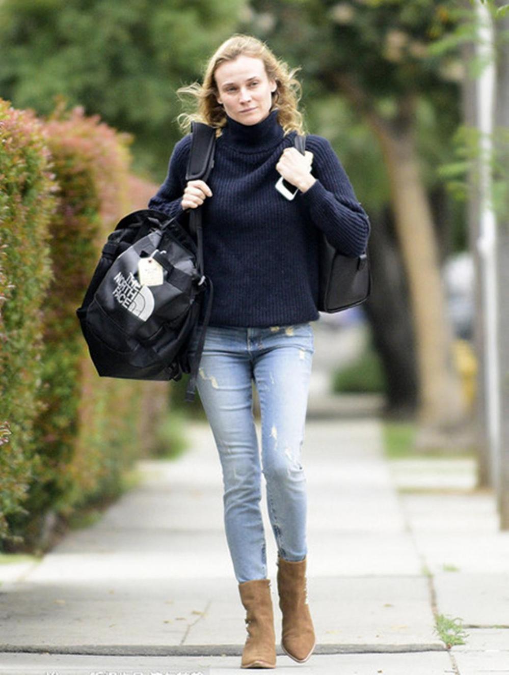 毛衣+长裤, 这是冬季的五个时髦搭配公式 5