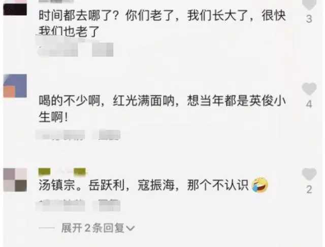 四大瓊瑤男神齊聚, 人還是那個人, 網友: 終歸是英雄遲暮瞭-圖4