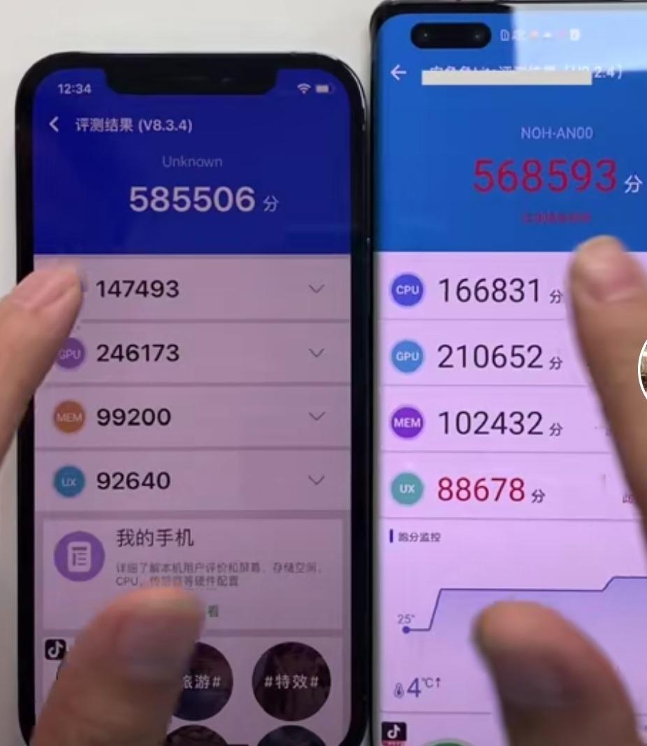 Iphone12與mate40拆機對比, 電池華為完勝, 主板體積是蘋果兩倍-圖2