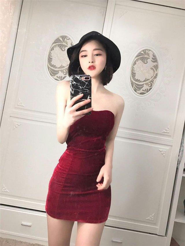 甜美婉约的短袖包臀裙, 楚楚动人, 上身气质又漂亮 4
