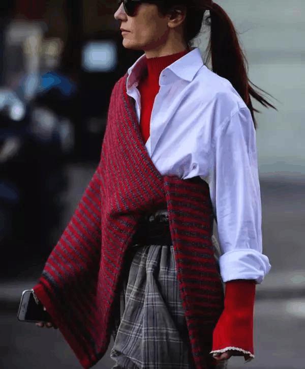 毛衣, 秋冬这样穿又美又温暖 3