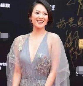 章子怡出席活动穿成这样, 网友: 跟没穿衣服有区别吗?