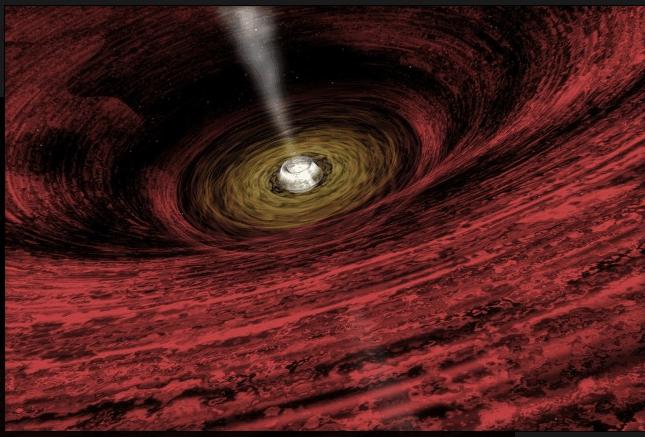 最新研究表明, 时间在黑洞内倒退