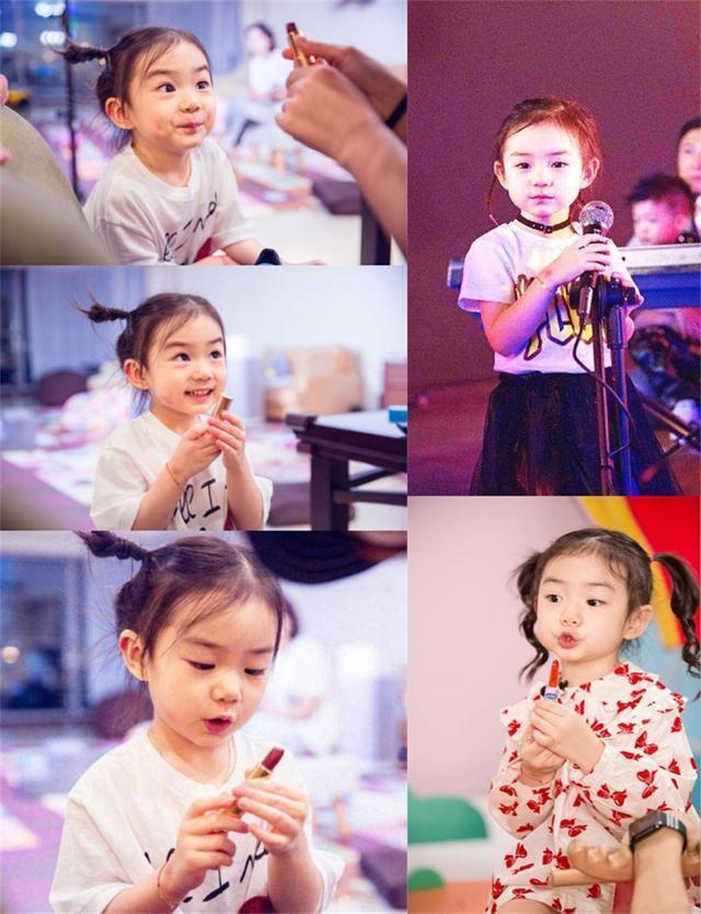 戚薇李承鉉女兒Lucky圈粉, 可愛又搞怪, 簡直是天生喜劇人-圖9